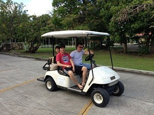 Antigua golf cart