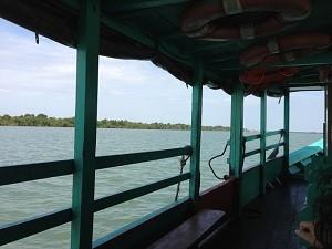 Klang River boat
