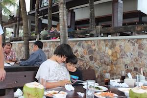 Bangkok cousin meal