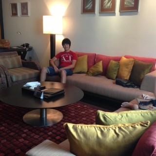 Bangkok hotel upgrade