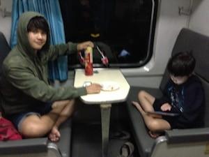 Train very cold