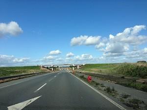 Portugal quiet motorway
