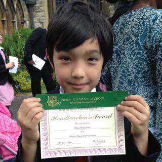 David surprise award
