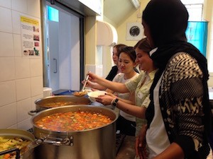 Soup Kitchen helpers