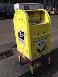 SpongeBob postbox