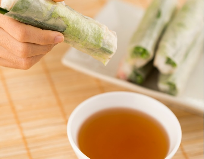 Vietnamese spring roll dipping sauce east west mix for Vietnamese fish sauce recipe