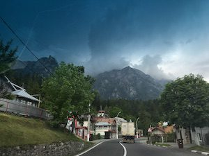 Brasov journey through mountains