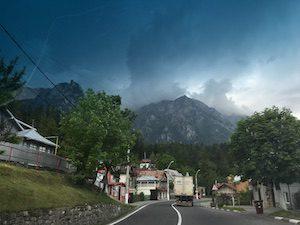 Brasov journey through mountains