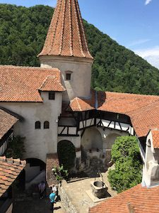 Bran Castle View from top