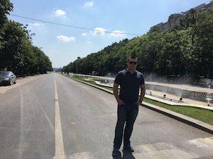 Bucharest avenue