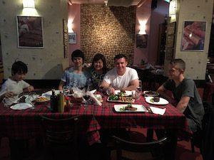 Cluj dinner photo