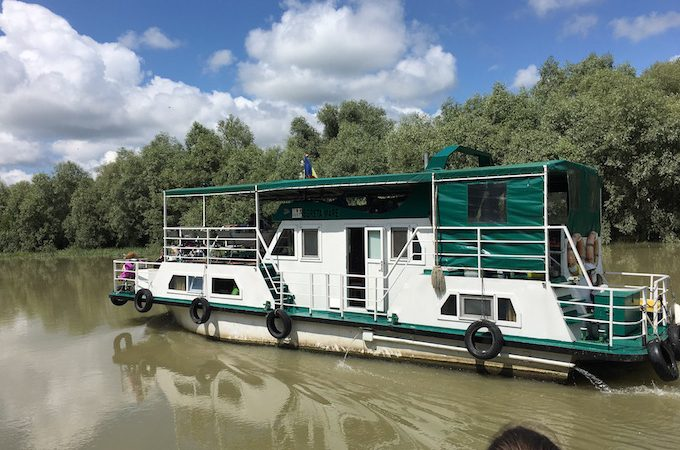 Meandering through the Danube Delta