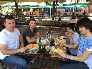 Lunch in Medias