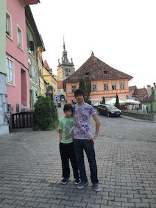 Sighisoara colourful