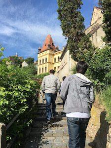 Sighisoara steps
