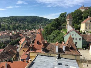 Sighisoara view