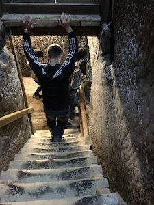 Turda Salt Mine Stairs Ciprian