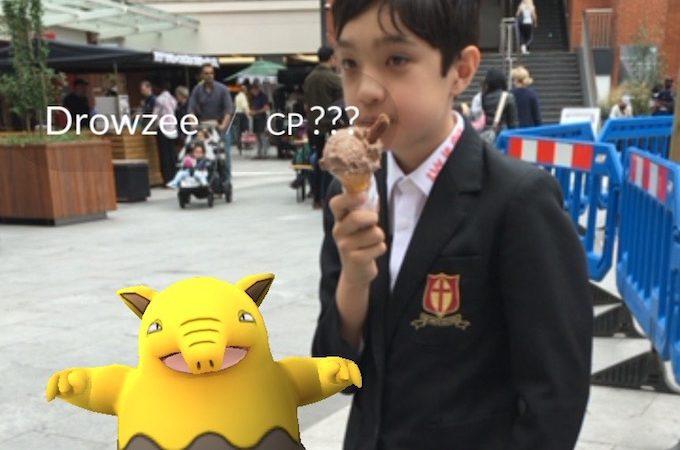 Pokemon Pose